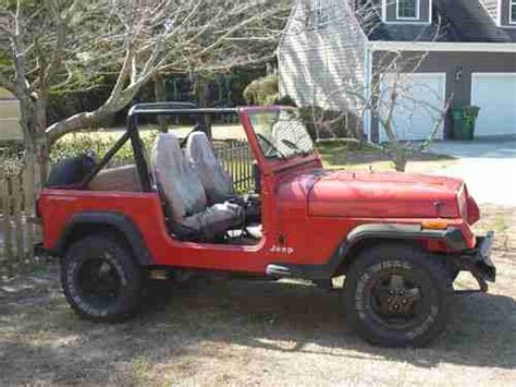 Jeep Mechanic Sell Used 1995 Jeep Wrangler Yj 2 5l Needs Project