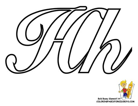 Lowercase Letter H Coloring Page by Extraordinary Idea Lower Script Letter H Coloring