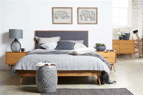 longlife solid timber king size bedroom suite with betty queen size timber bed bedshed bedshed