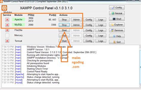 cara membuat database mysql modoo marble offline belajar wordpress part 1 cara install wordpress offline