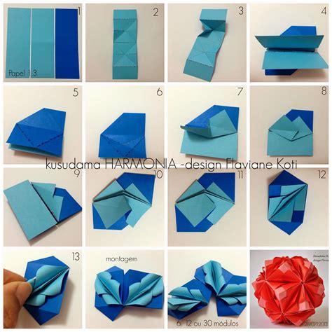 Do Origami - terapia do papel tutorial kusudama amaz 212 nia brasil e