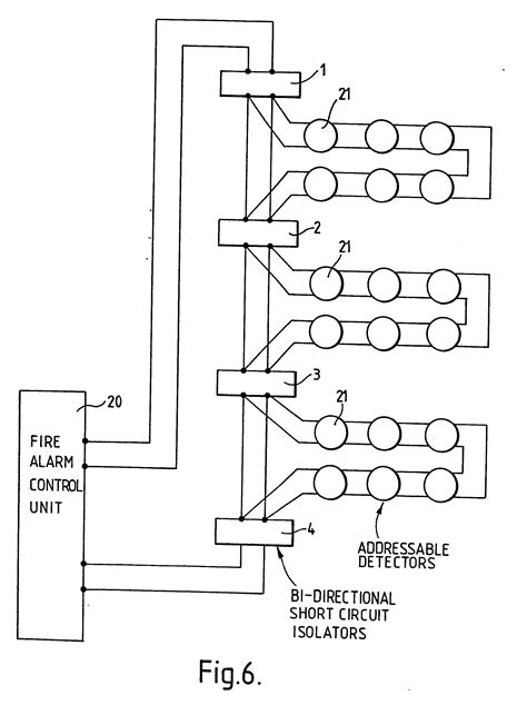 wiring diagram apollo addressable smoke detector