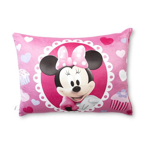 toddler bed pillow disney minnie mouse bed pillow