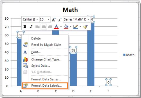 label format in excel 2007 how to hide zero data labels in chart in excel