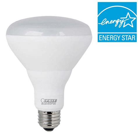 Feit Electric Led Light Bulbs by Feit Electric 65w Equivalent Soft White 2700k Br30