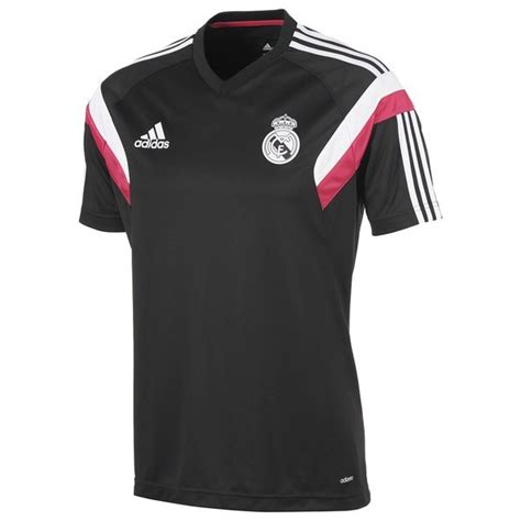 real madrid t shirt black white www