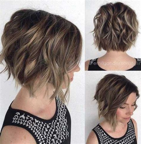 trendy haircuts for thick hair stylish short haircuts for thick and wavy hair hairiz
