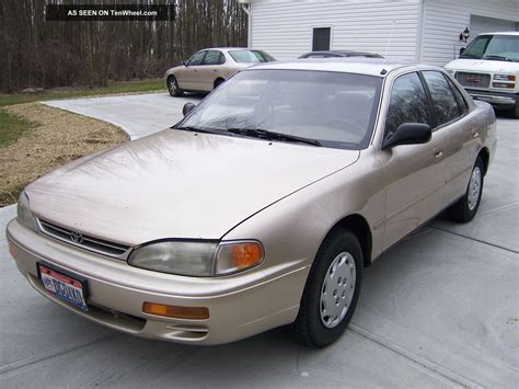 1996 toyota camry dx 1996 toyota camry dx sedan 4 door 2 2l