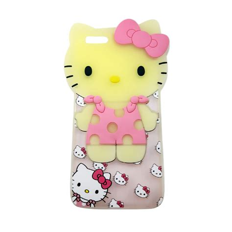 Softcase Gantungan For Iphone 6 Termurah Terlengkap jual silicon glow kartun karakter hellokitty 3d softcase casing for iphone 6 plus or iphone 6s