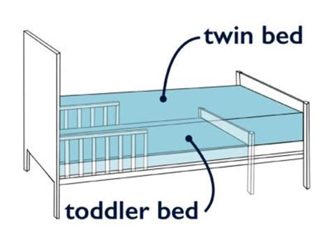 toddler bed mattress size how to transition from crib to bed sleepopolis