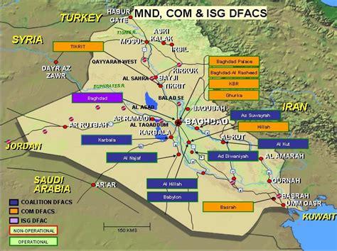 map of baghdad iraq iraq facilities maps