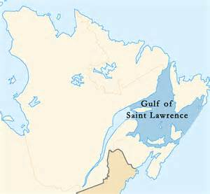 map of canada gulf of st gulf of