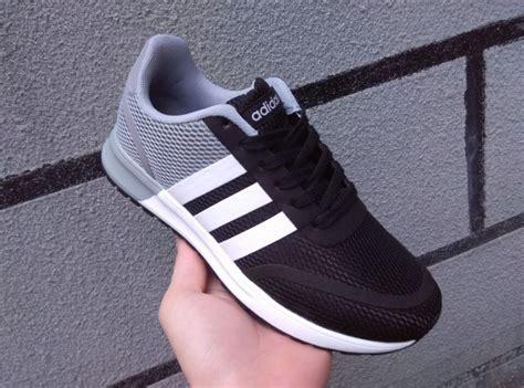 Adidas Neo V Leather Grey Black adidas neo ortholite black