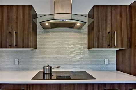 Pictures Of Glass Tile Backsplash In Kitchen Glass Tile Kitchen Backsplash Midcentury Kitchen San