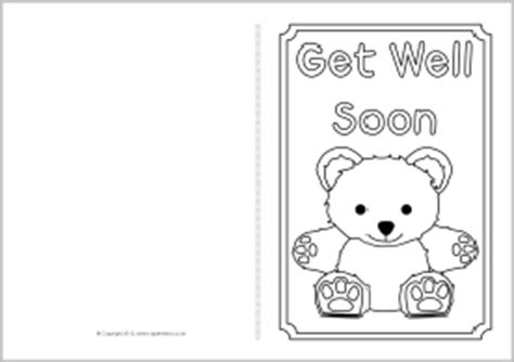 get well card coloring template card printable images gallery category page 64