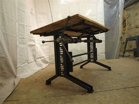 industrial standing desk desk deck inspiration on your