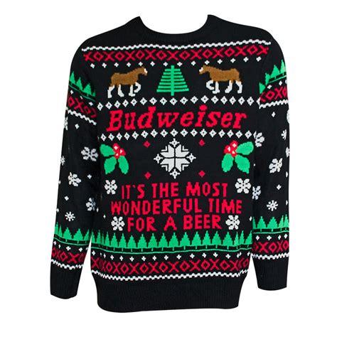 bud light sweater budweiser most wonderful for black