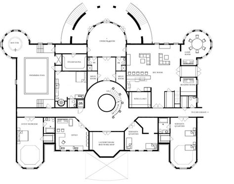 mansion floor plans images acvap homes inspiration