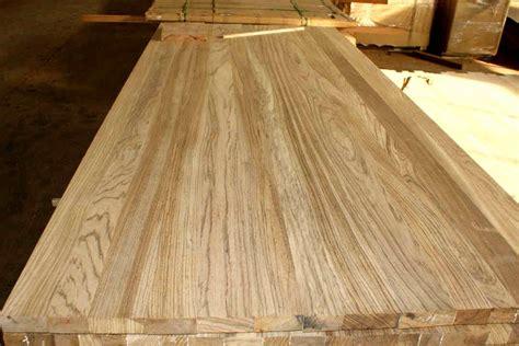 Rustic Kitchen Island Zebra Wood Edge Glued Butcher Block Countertops Jieke Wood