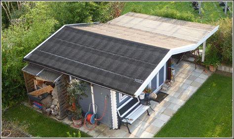 Dachdecken Gartenhaus