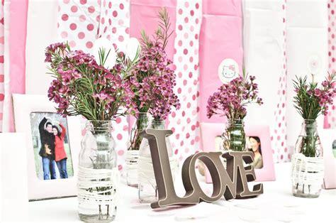 bridal shower table centerpieces tbdress blog useful wedding shower theme ideas
