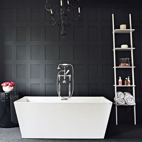Modern Black And White Bathrooms Grey Bathroom On Pinterest Concrete Bathroom Grey Bathrooms And Bathroom