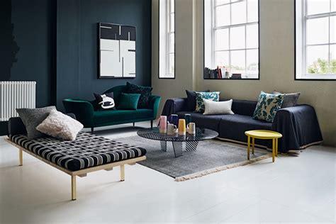 Large navy blue sofa reversable fabric living room ideas houseandgarden co uk