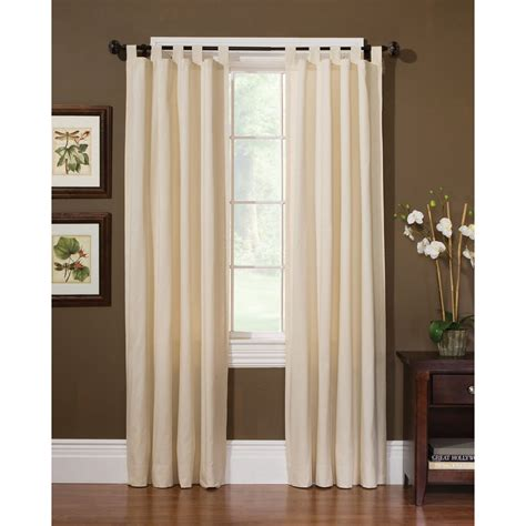 sears drapery panels country living natural sailcloth window panels home