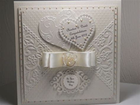 Engagement Handmade Cards - best 25 wedding day cards ideas on wedding