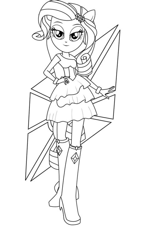 My Little Pony Equestria Girl Coloring Pages Pinkie Pie Equestria Pinkie Pie Coloring Pages Free