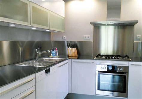 plaque adh駸ive inox cuisine plaque adhesive inox cuisine maison design bahbe com