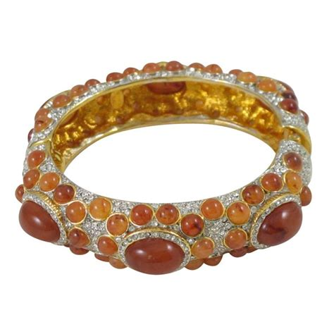 Jeweled Magnificence Kenneth by Kenneth Grace Collection Jeweled Cler Bracelet