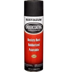 rust oleum automotive  oz rubberized undercoating black