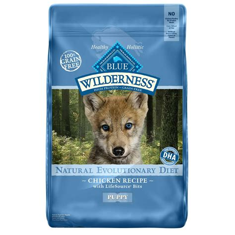 blue buffalo food blue buffalo blue wilderness puppy chicken recipe food petco