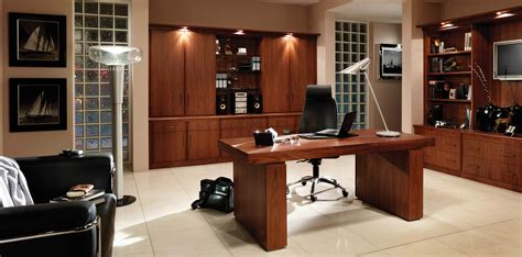 15 photo of fitted home office furniture olive crown