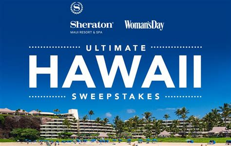 Hawaii Contests Sweepstakes - woman s day ultimate hawaii sweepstakes win a trip for 4 to hawaii