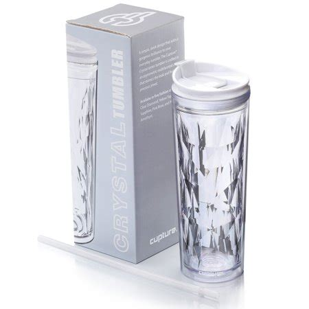 tumbler for hot and cold drinks cupture crystal click seal shake tumbler cup for hot or