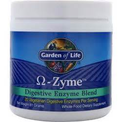 Garden Of Omega Zyme Review Garden Of Omega Zyme Digestive Enzyme Blend On Sale