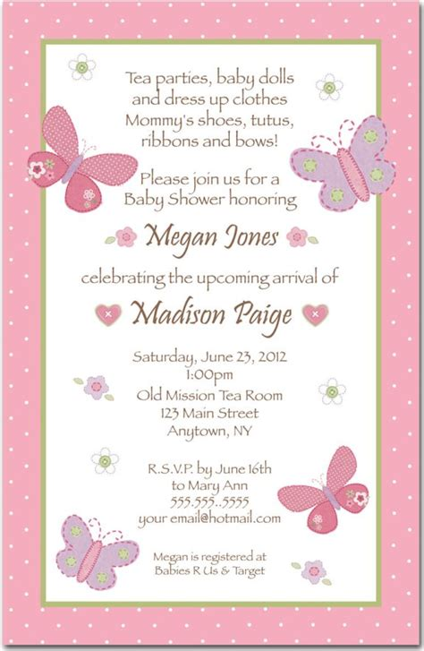Baby Shower Invitation Card Wording by Baby Shower Invitations Wording Theruntime