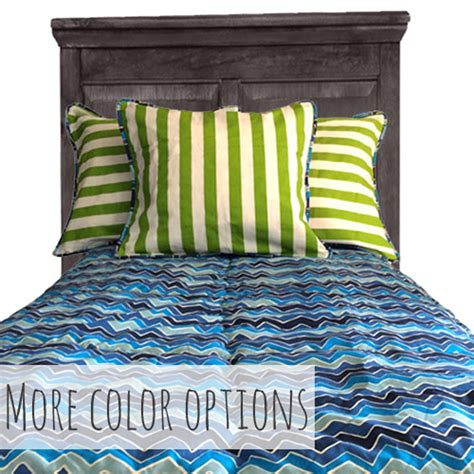 Bunk Bed Blankets Noah Chevron Fitted Bunk Bed Comforter Bedding For Bunks
