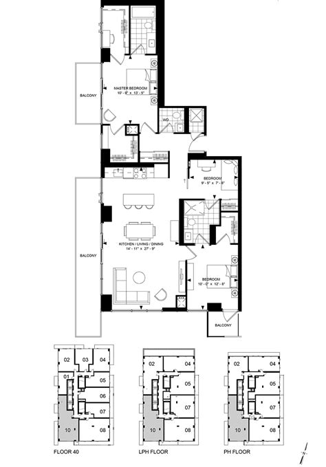 wellesley floor plans 50 wellesley east condos for sale