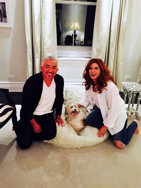 dogs messing in the house debra messing on twitter quot cesar millan in the house henryabigchangeisacomin