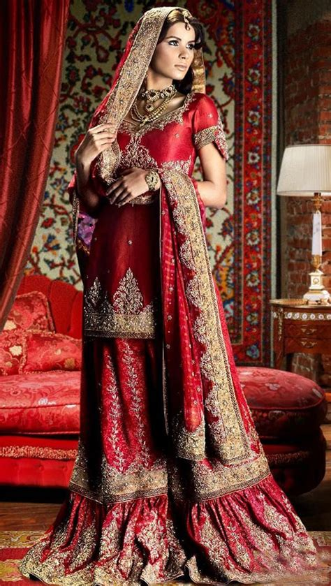 sharara dupatta draping 12 styles to drape dupatta on your wedding looksgud in