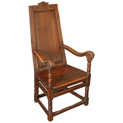 Wainscot Chairs For Sale by 18th Century Oak Wainscot Chair For Sale At 1stdibs
