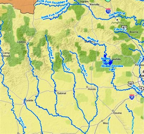 texas rivers and lakes map major rivers of texas outline map labeled enchantedlearningcom river basins reservoirs texas