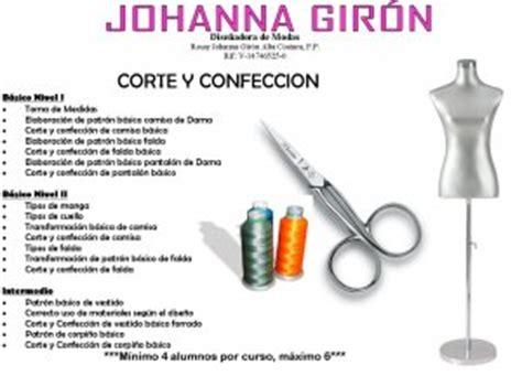 cursos corte y confeccion gratis atelier de la dise 241 adora johanna giron dicta cursos de