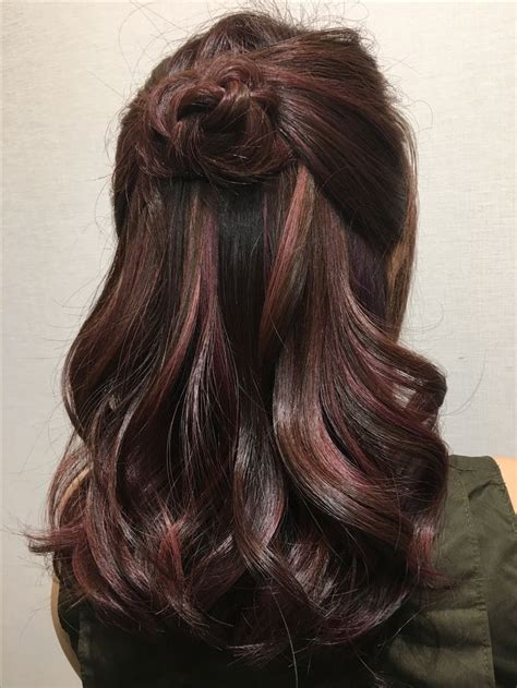 rose gold hair dye dark hair 25 beste idee 235 n over rose gold highlights op pinterest