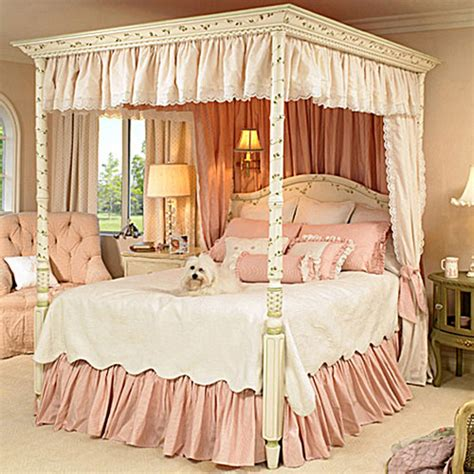 gwendelyn canopy bed and luxury kid furnishings including