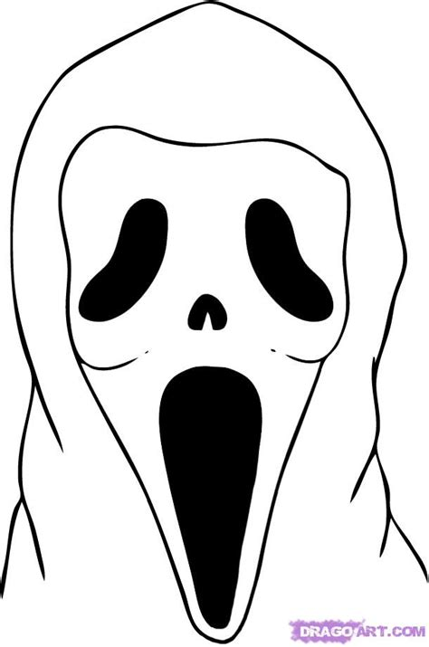 Awesome Graffiti Mask #8: Scream-halloween-coloring-pages_218741.jpg
