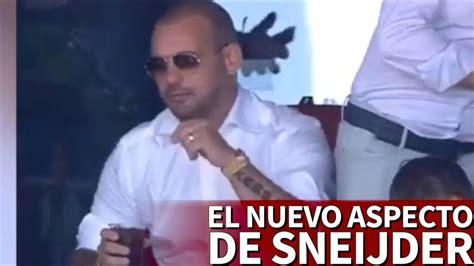 en surpoids wesley sneijder choque tout le monde du foot